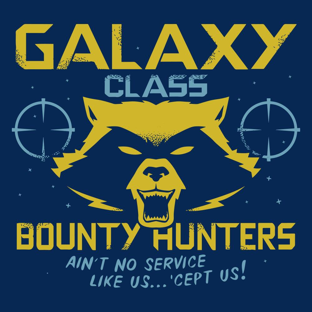 14373d9517200 Galaxy Class Bounty Hunters T-Shirt