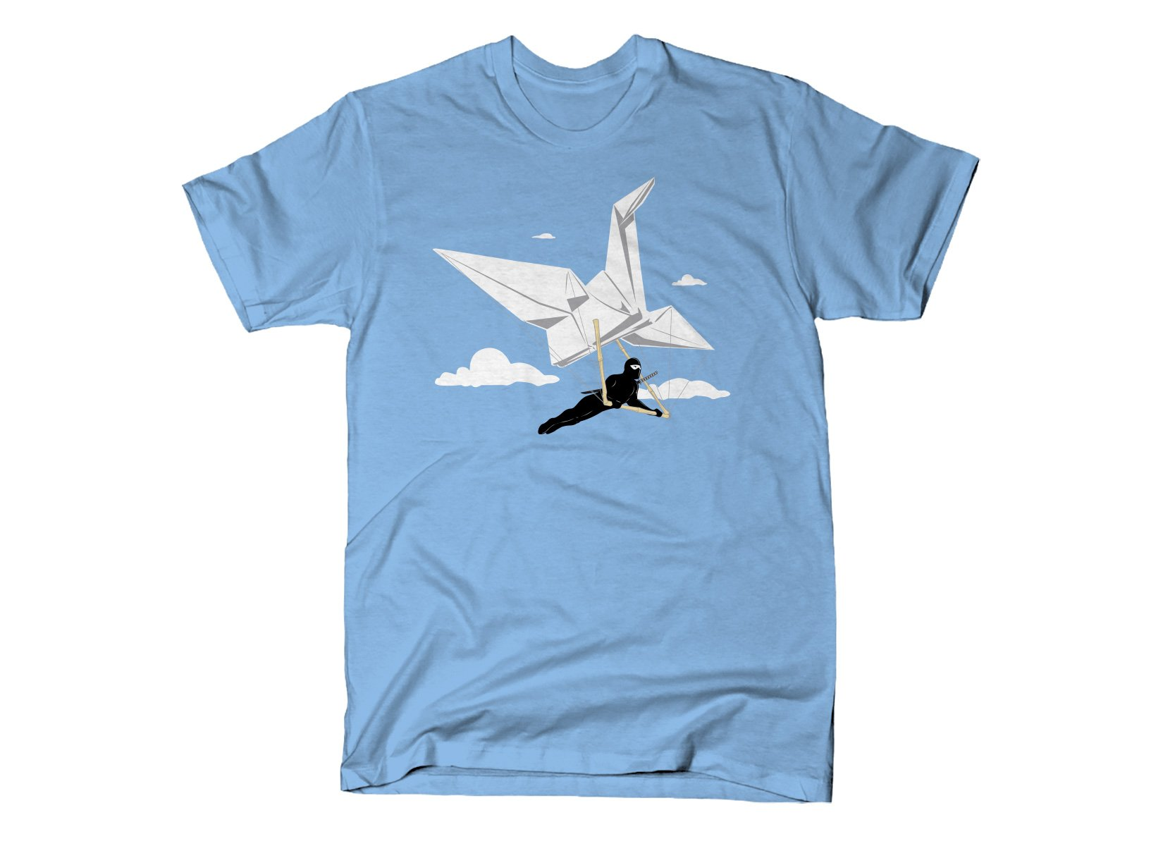 Ninja Glider on Mens T-Shirt