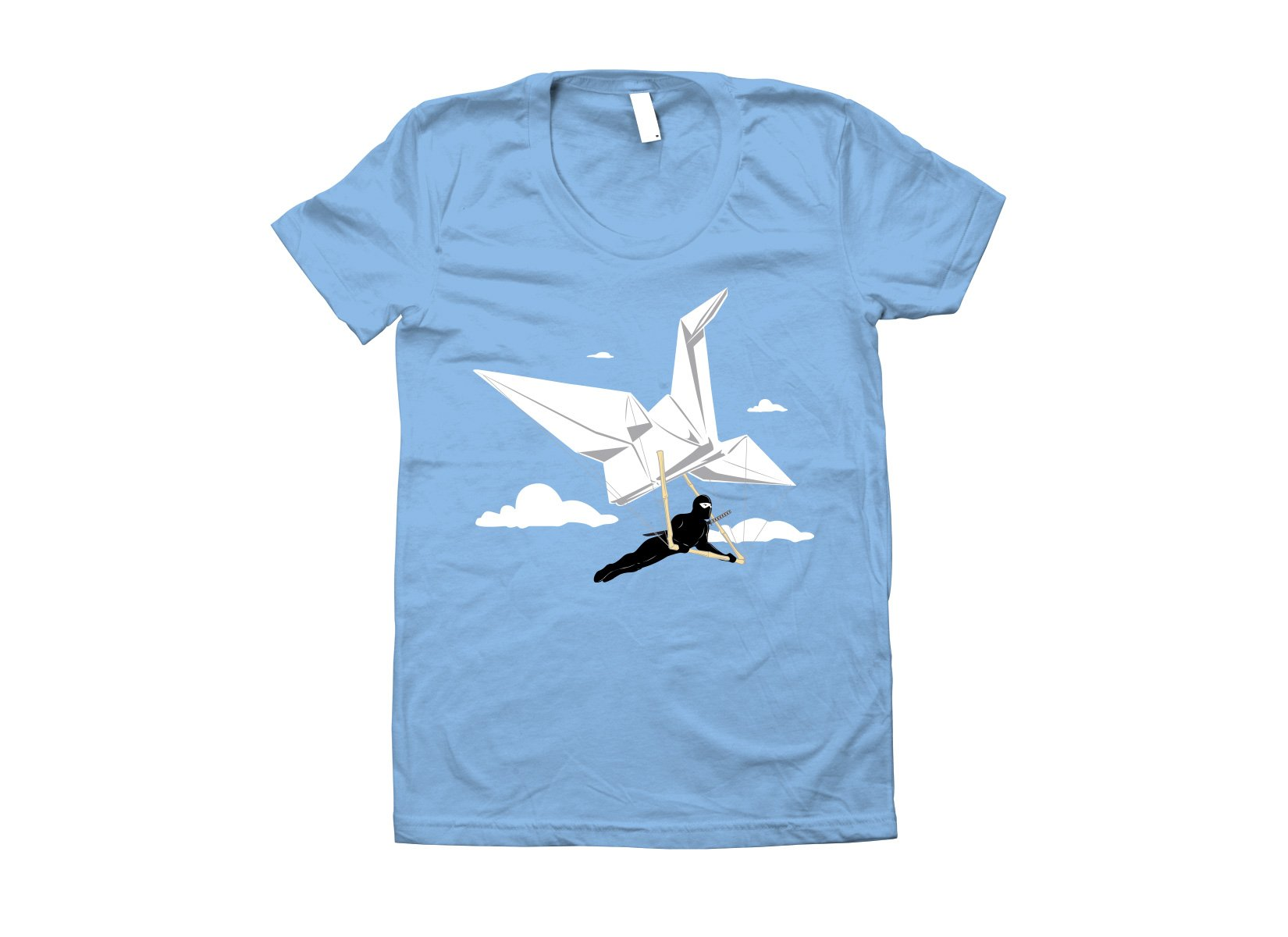 Ninja Glider on Juniors T-Shirt