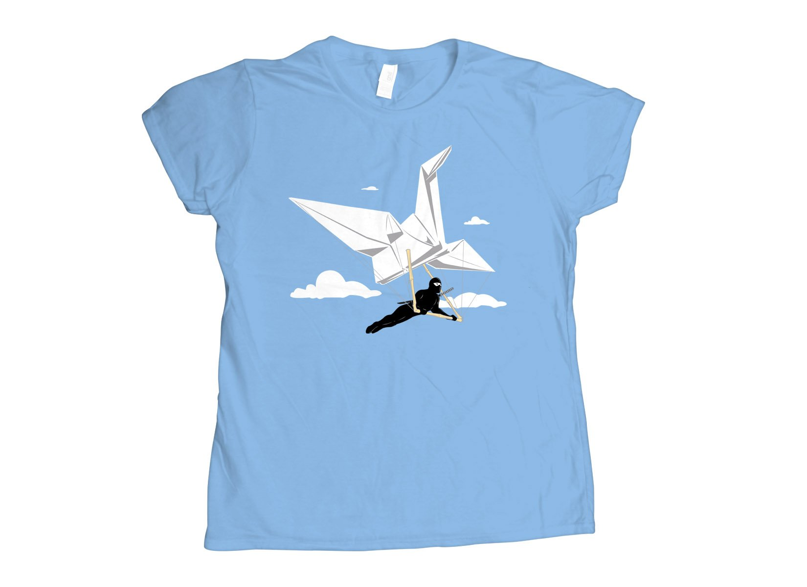 Ninja Glider on Womens T-Shirt