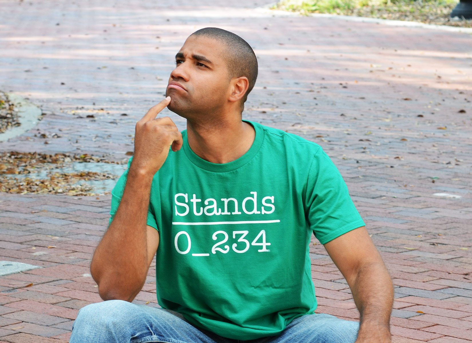 No 1 Under Stands on Mens T-Shirt