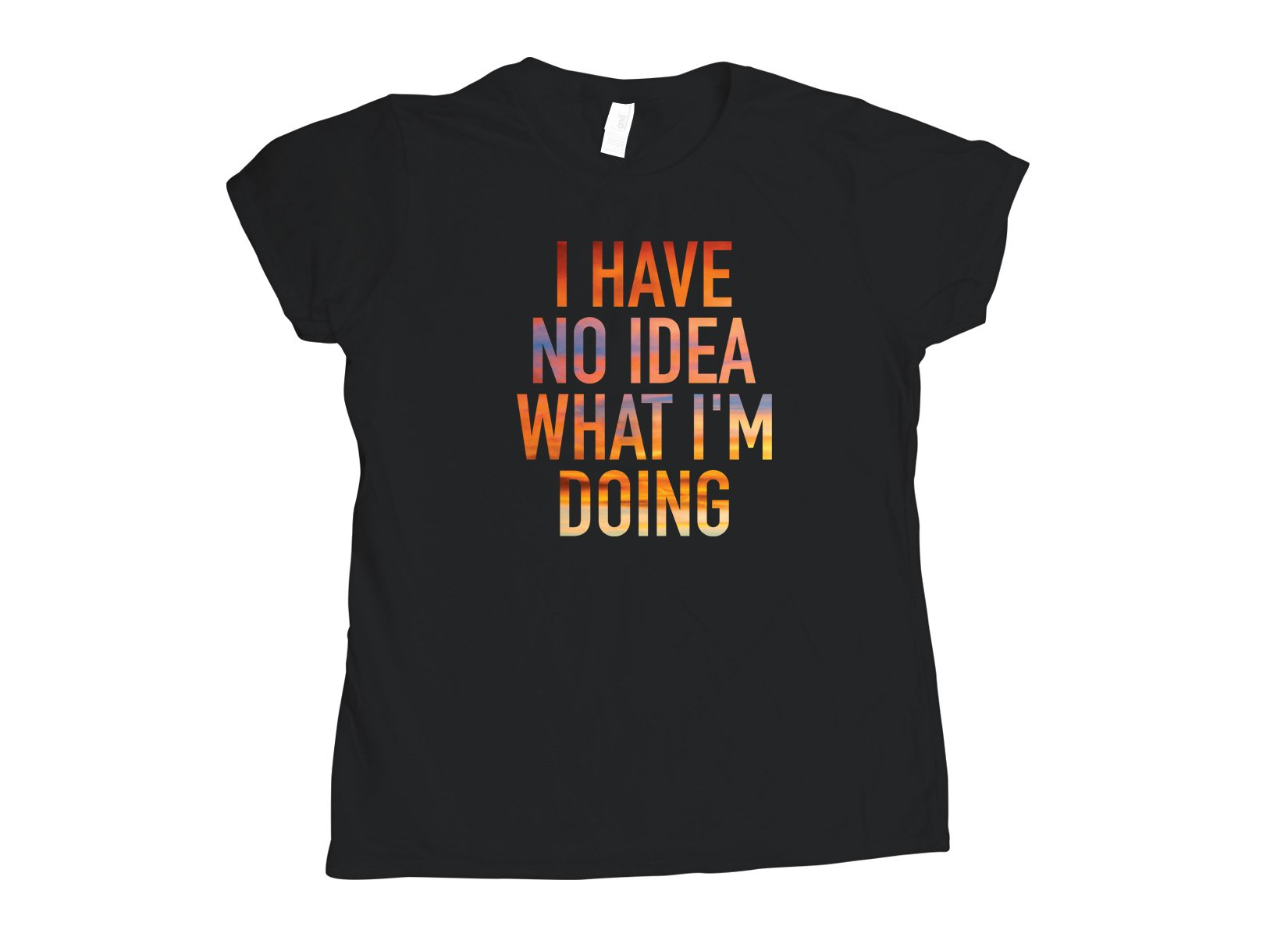 I Have No Idea What I'm Doing on Womens T-Shirt