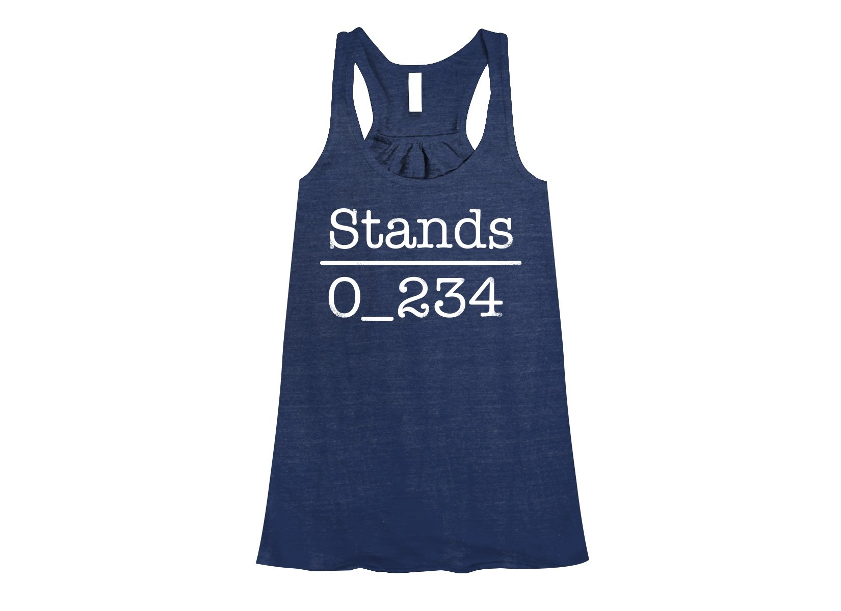 No 1 Under Stands on Womens Tanks T-Shirt