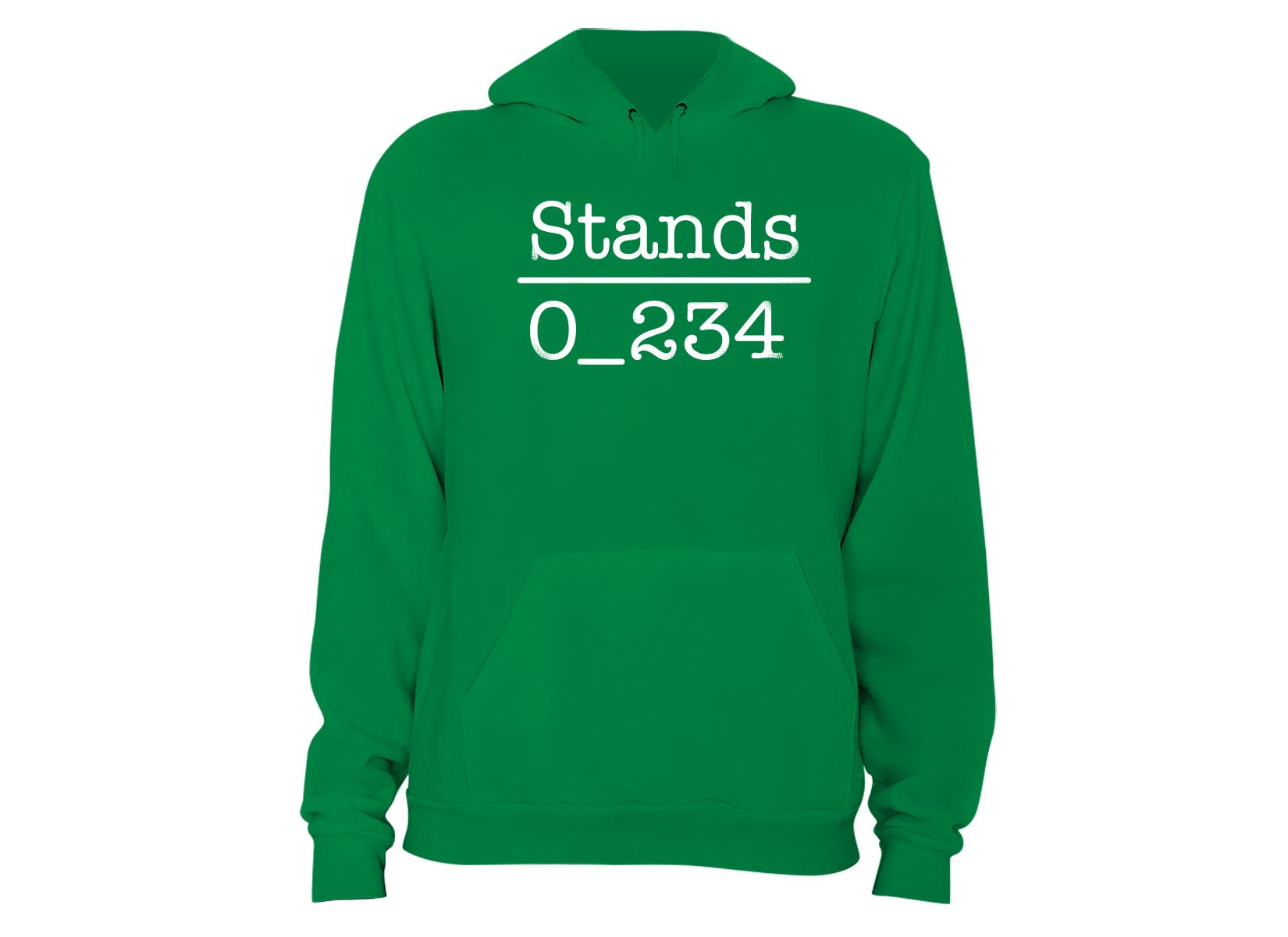 No 1 Under Stands on Hoodie