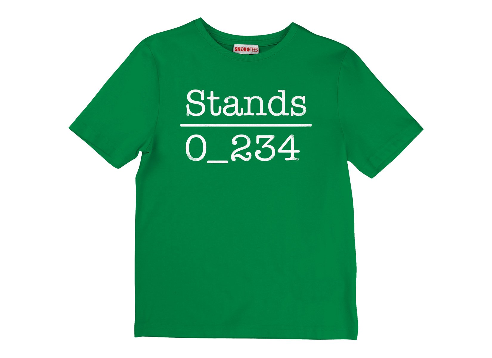 No 1 Under Stands on Kids T-Shirt