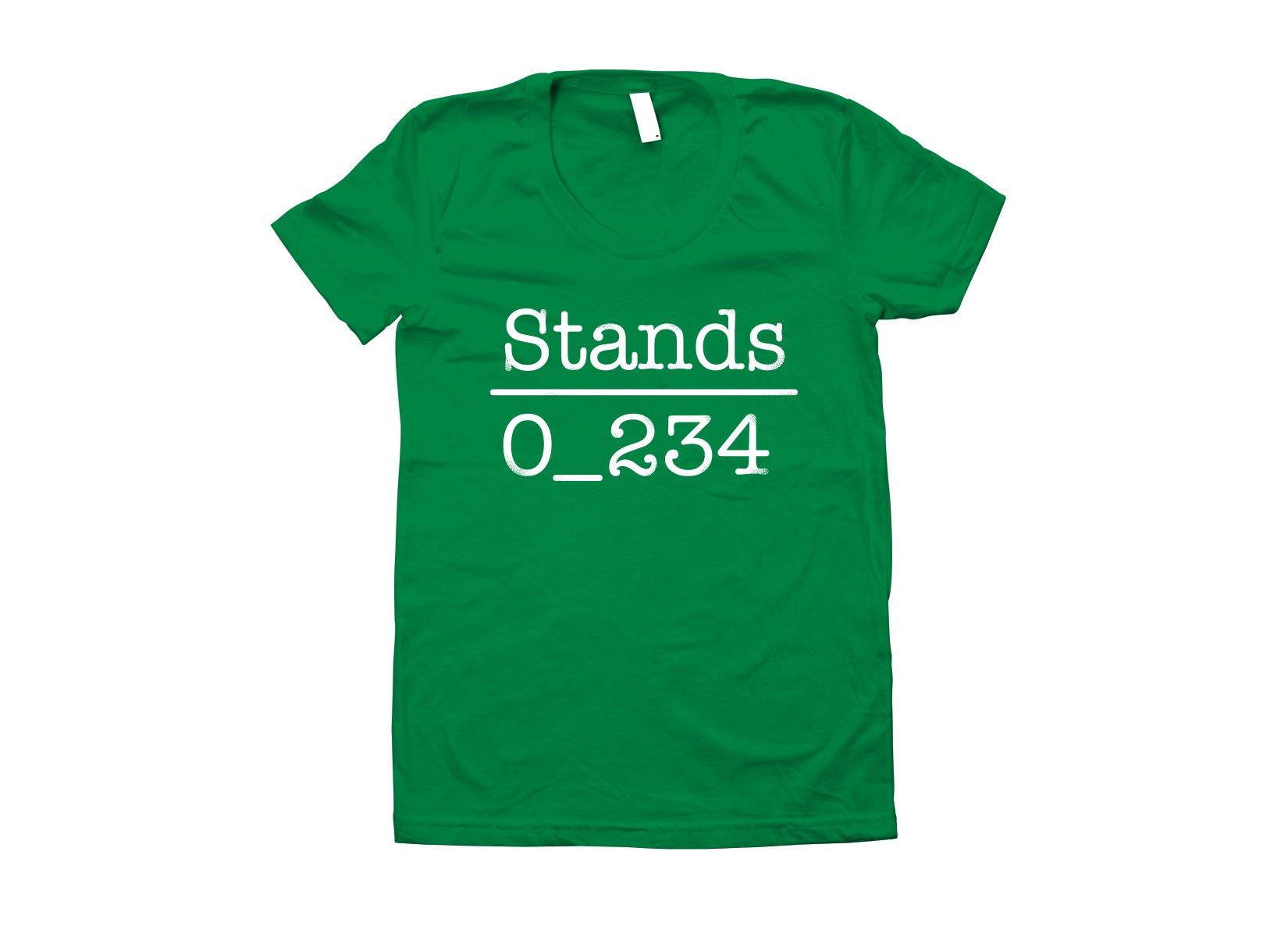 No 1 Under Stands on Juniors T-Shirt
