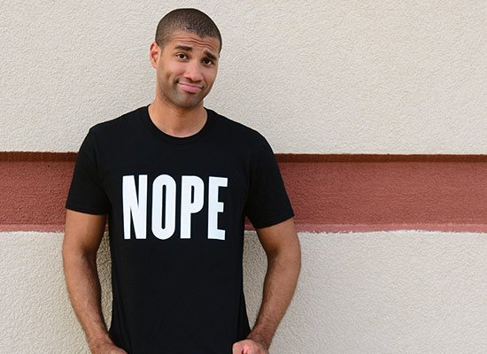 Nope on Mens T-Shirt