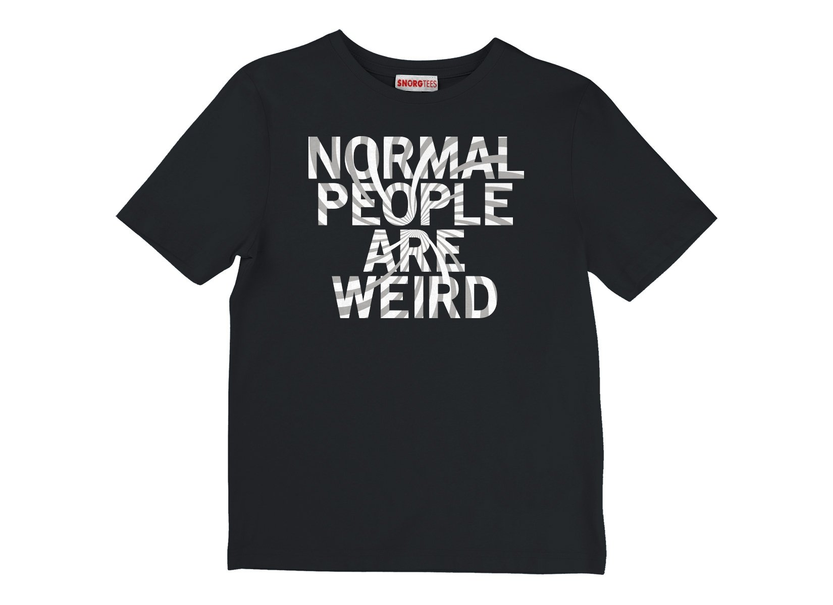 Normal People Are Weird on Kids T-Shirt