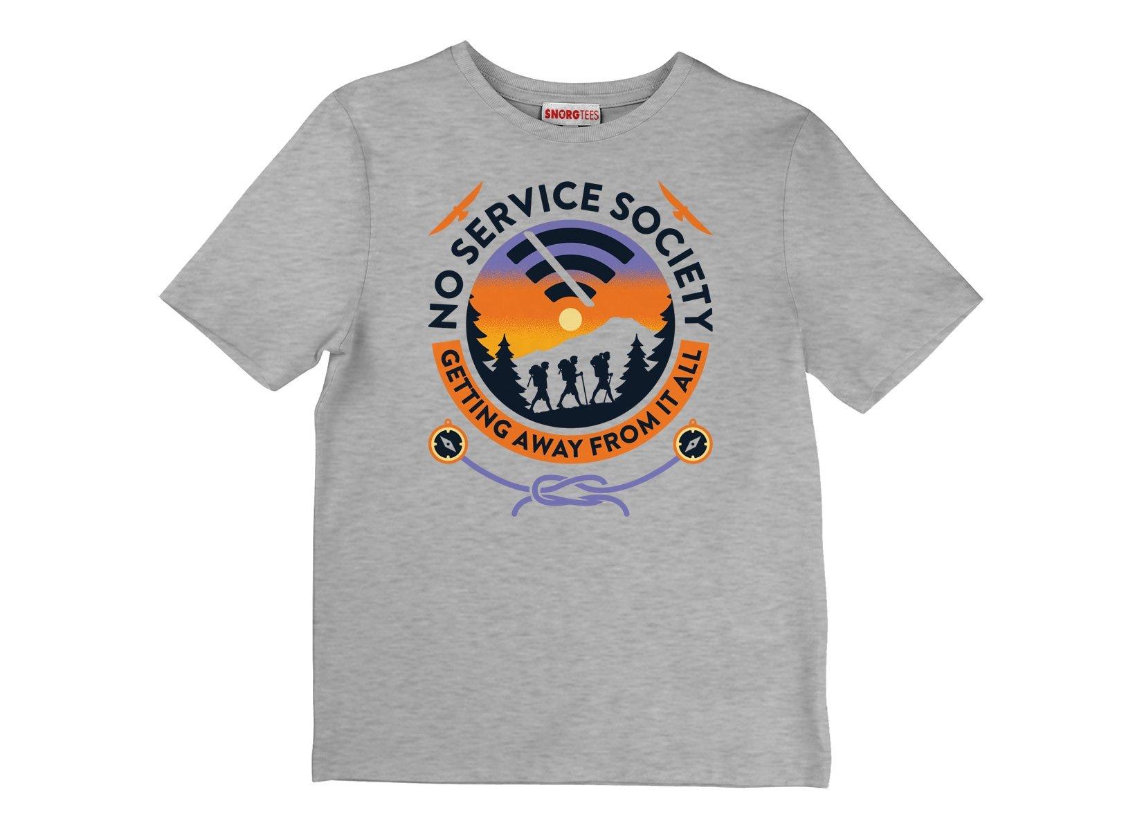 No Service Society on Kids T-Shirt
