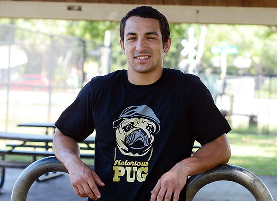 Notorious PUG on Mens T-Shirt