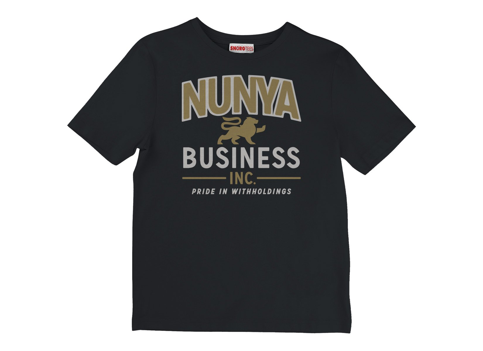 Nunya Business on Kids T-Shirt