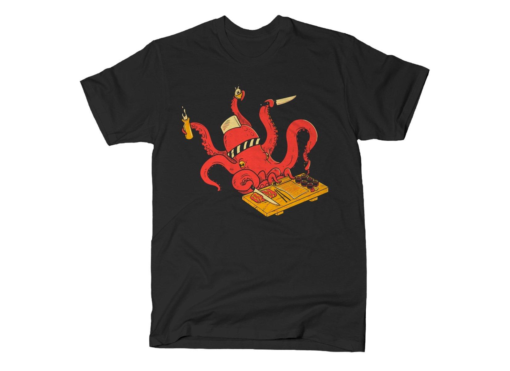 Octo Itamae on Mens T-Shirt