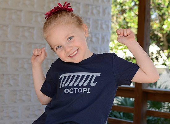 Octopi on Kids T-Shirt