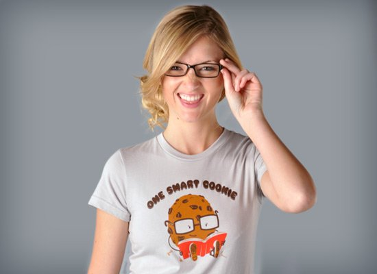 One Smart Cookie on Juniors T-Shirt