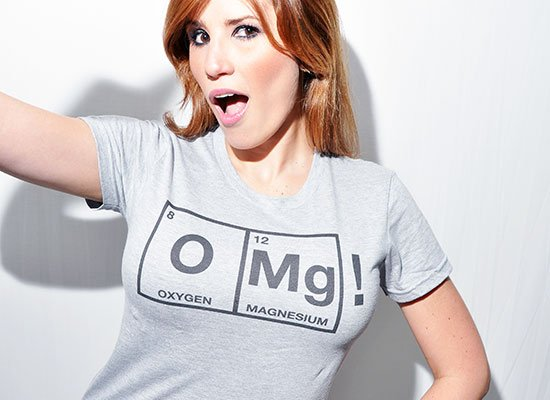 OMg! on Juniors T-Shirt