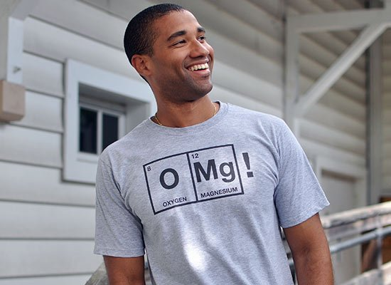 OMg! on Mens T-Shirt