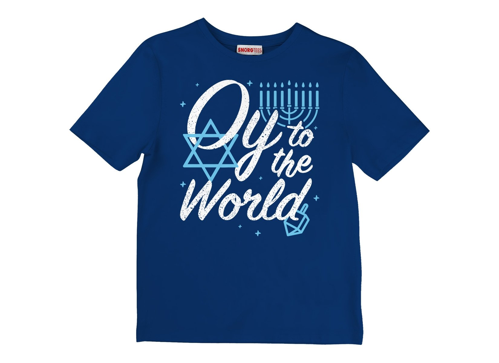 Oy To The World on Kids T-Shirt