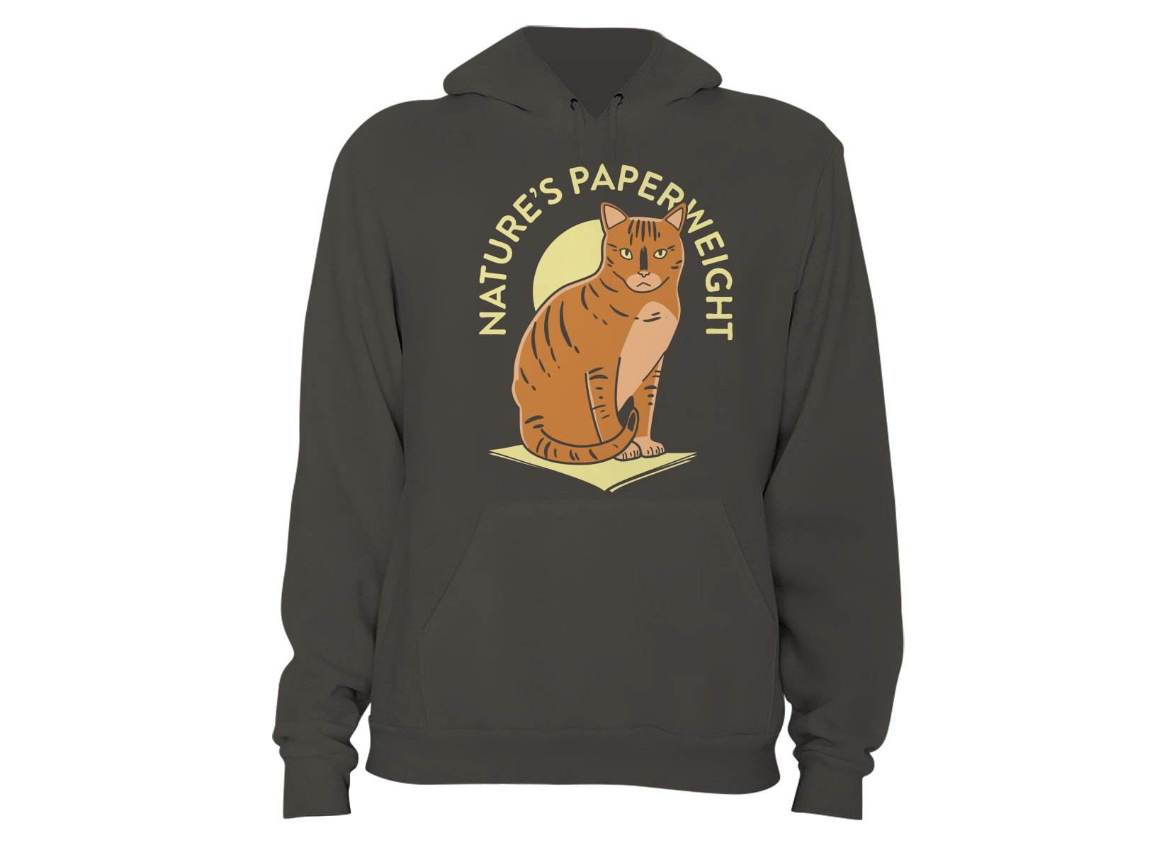 Nature's Paperweight on Hoodie
