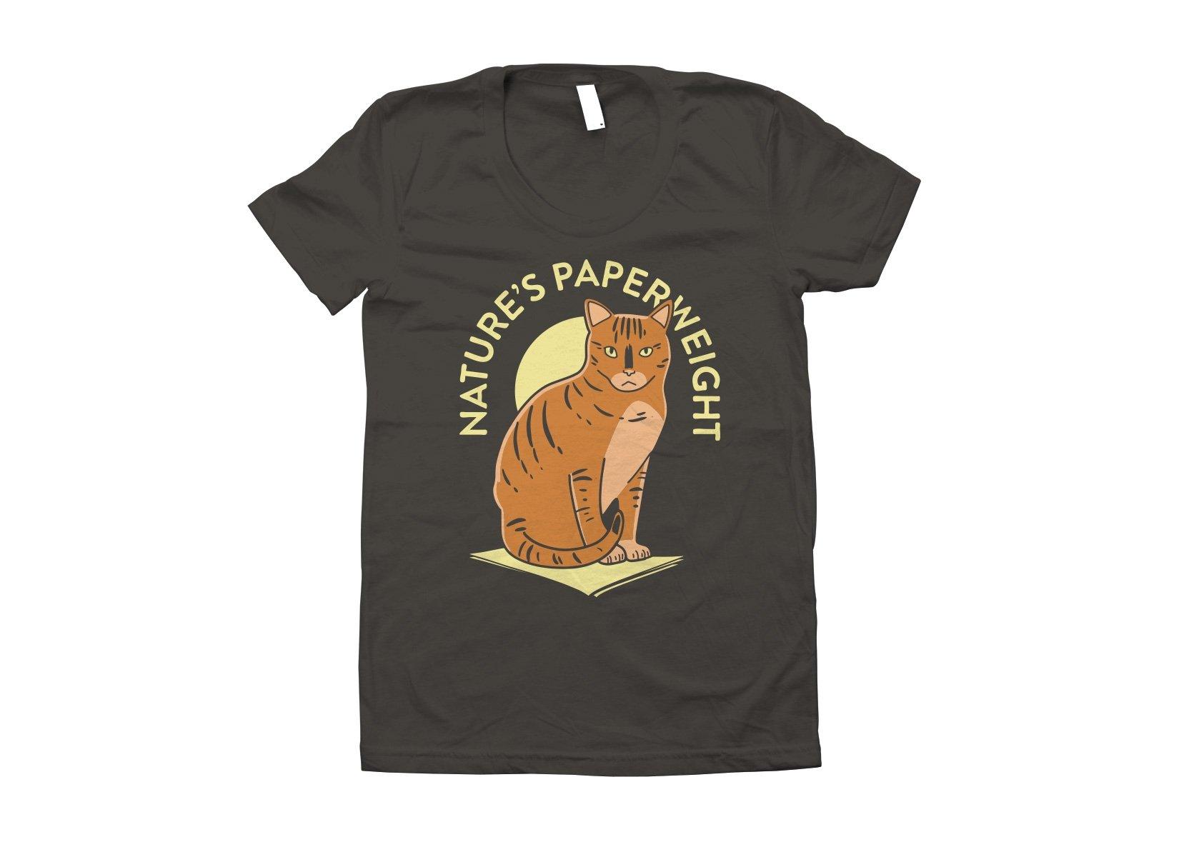 Nature's Paperweight on Juniors T-Shirt