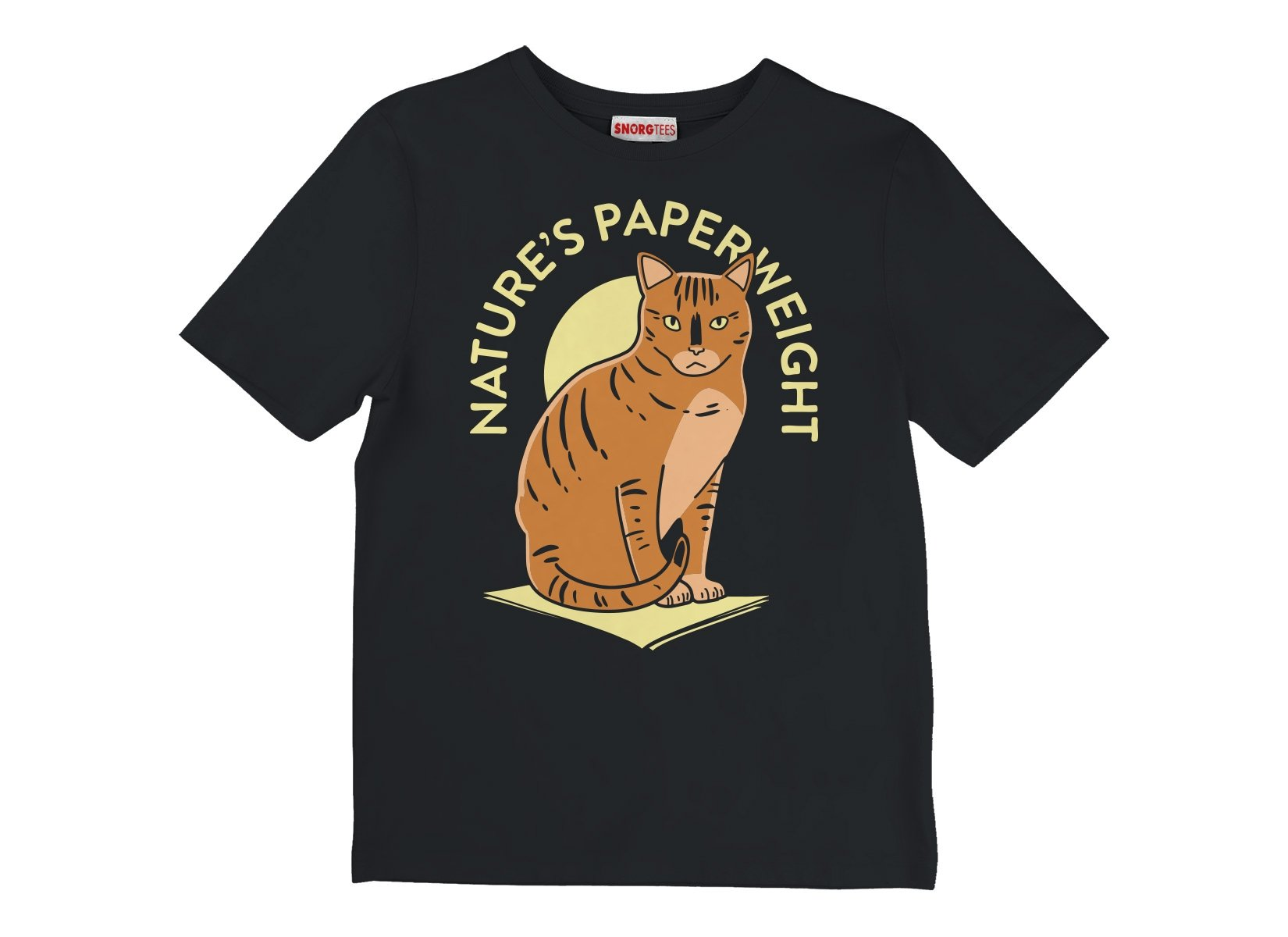 Nature's Paperweight on Kids T-Shirt