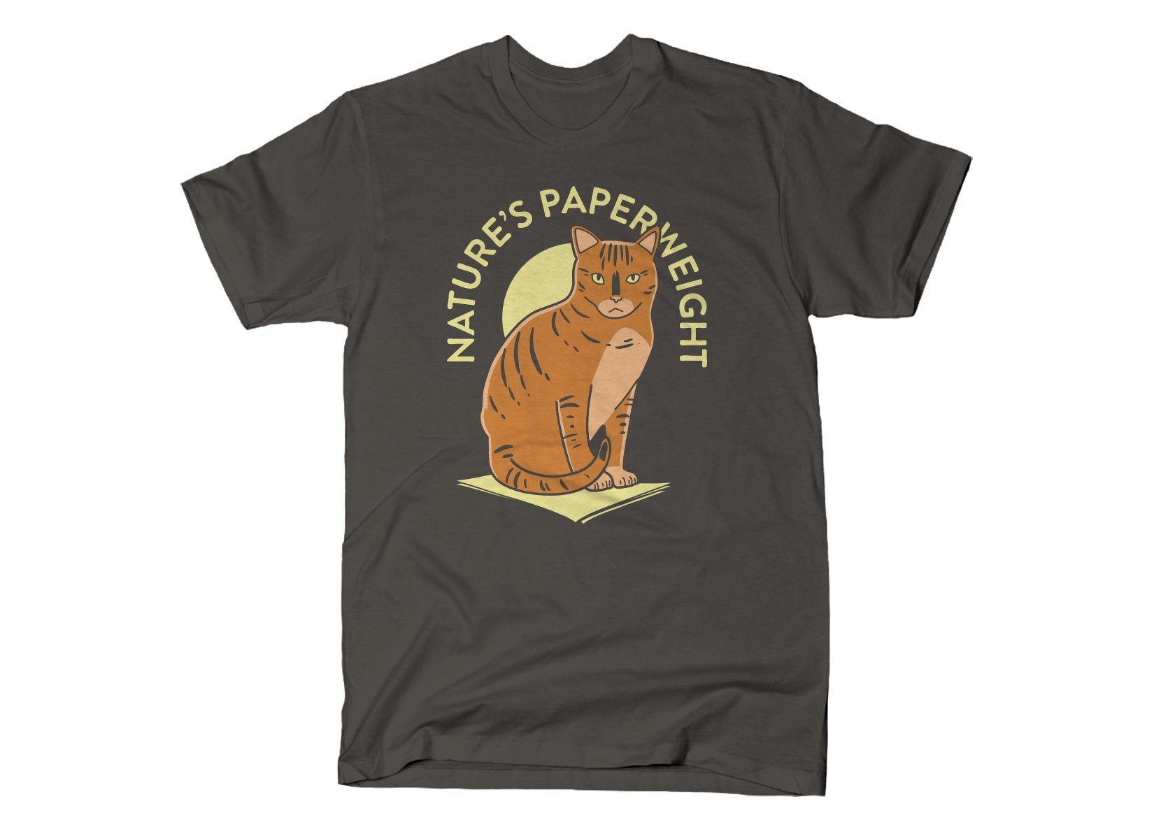Nature's Paperweight on Mens T-Shirt