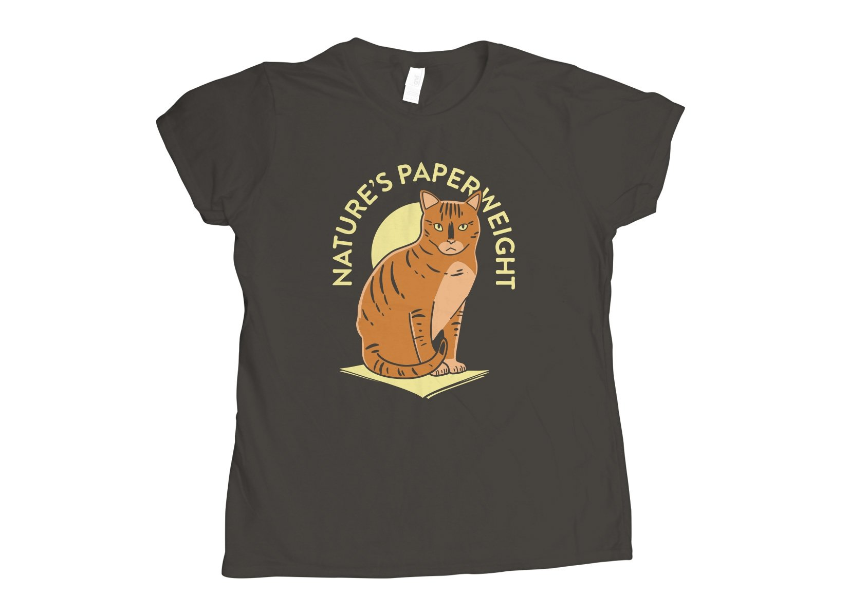 Nature's Paperweight on Womens T-Shirt