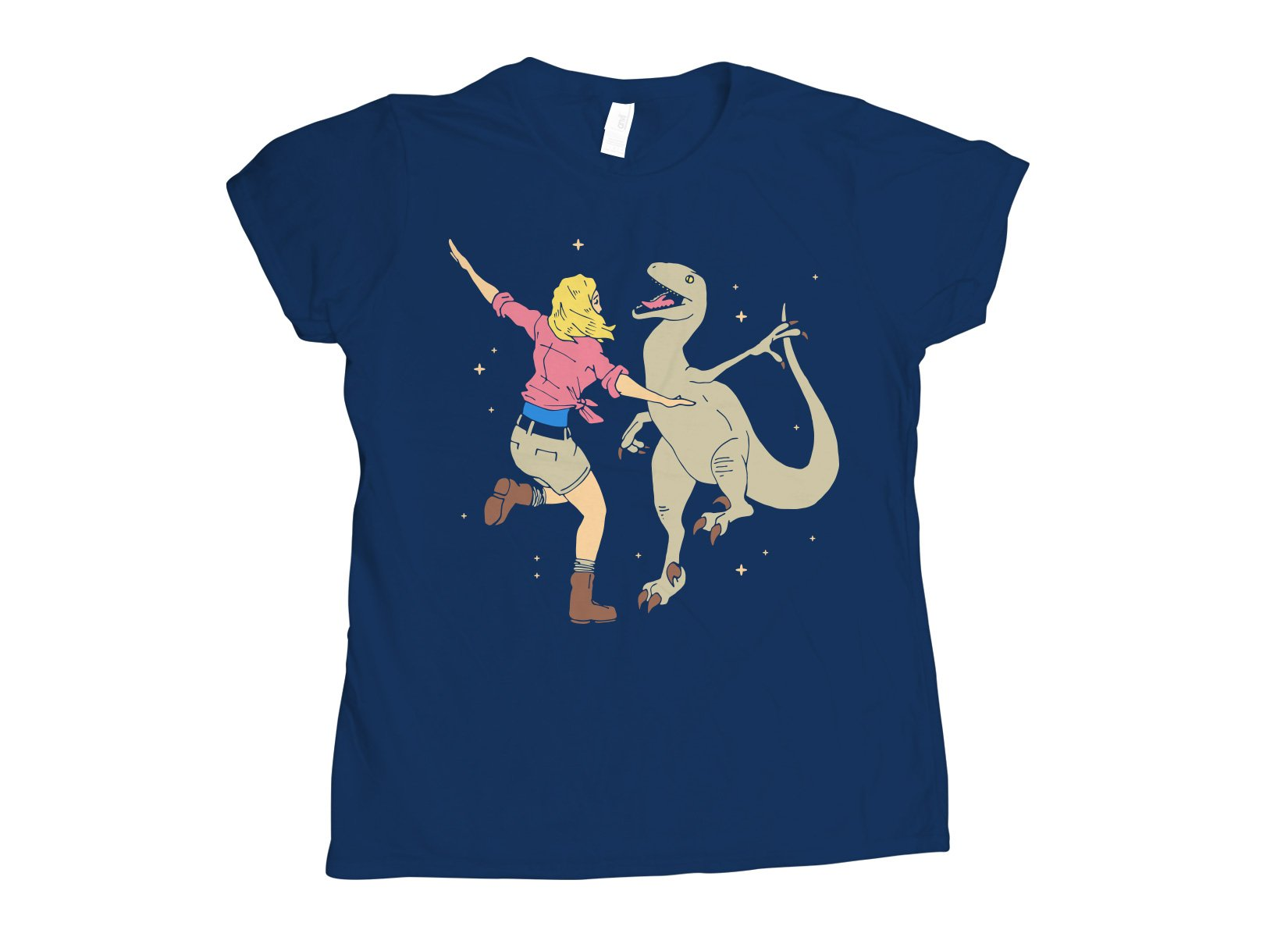 Park Of Stars on Womens T-Shirt