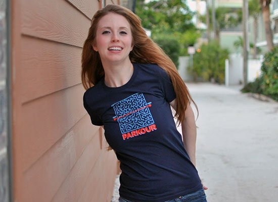 Parkour on Juniors T-Shirt