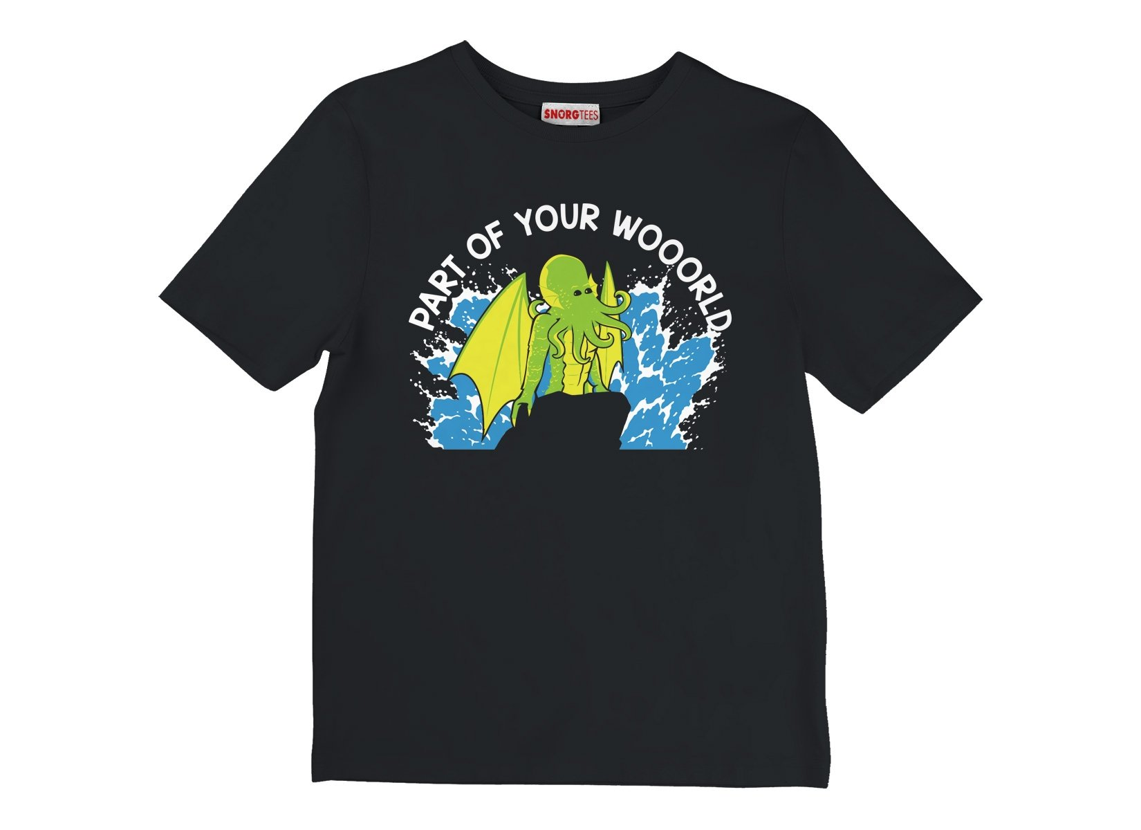Part Of Your World on Kids T-Shirt