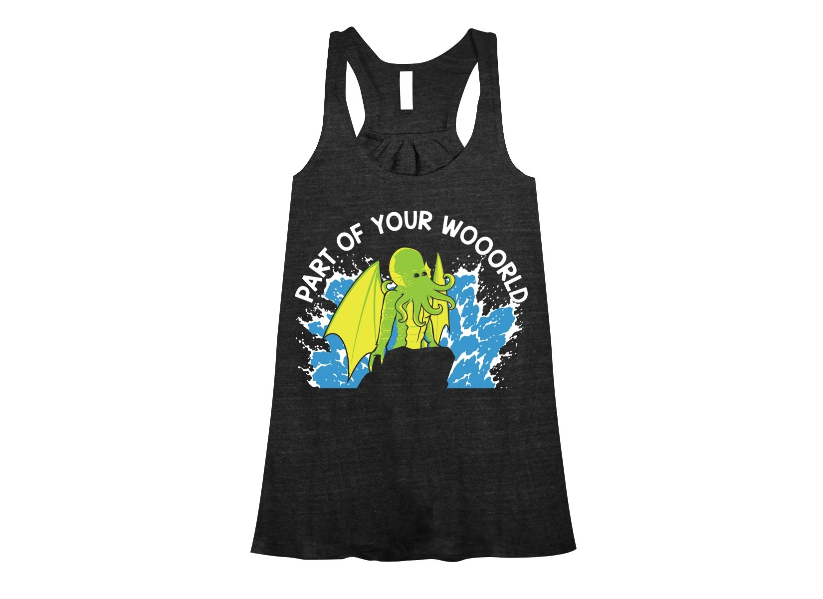Part Of Your World on Womens Tanks T-Shirt