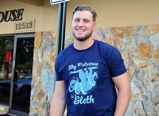 My Patronus Is A Sloth on Mens T-Shirt