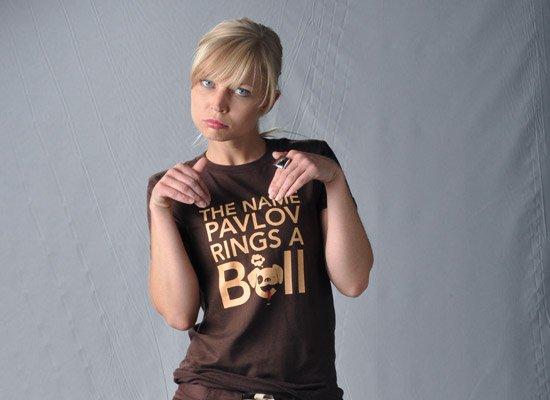 The Name Pavlov Rings A Bell on Juniors T-Shirt