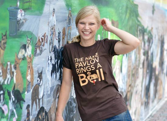 The Name Pavlov Rings A Bell on Juniors T-Shirt