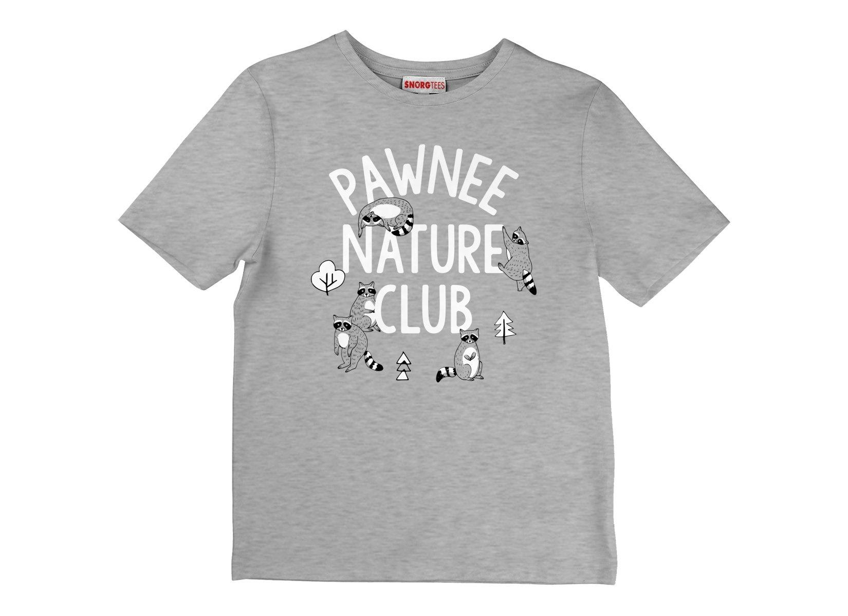 Pawnee Nature Club on Kids T-Shirt