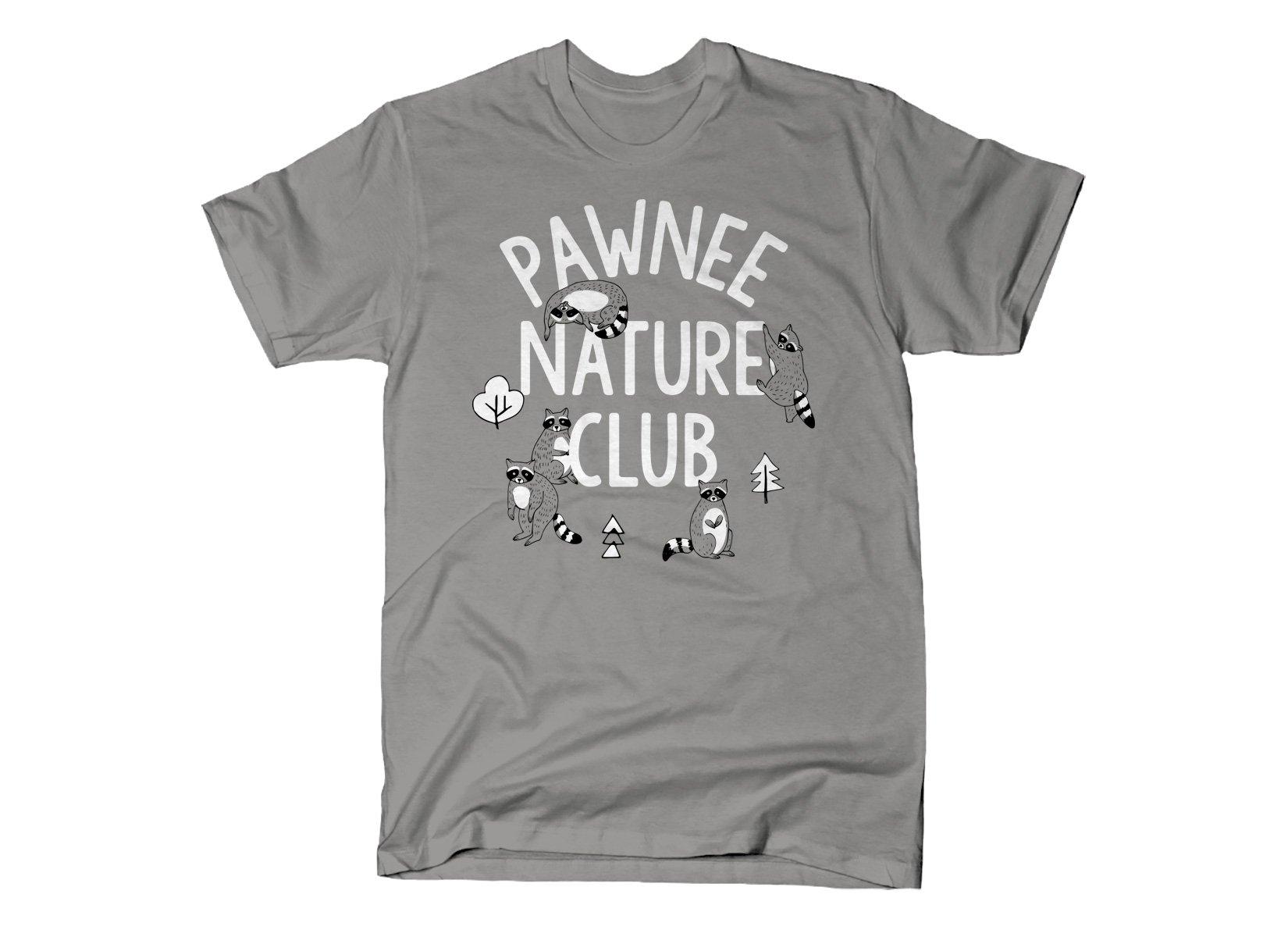 Pawnee Nature Club on Mens T-Shirt