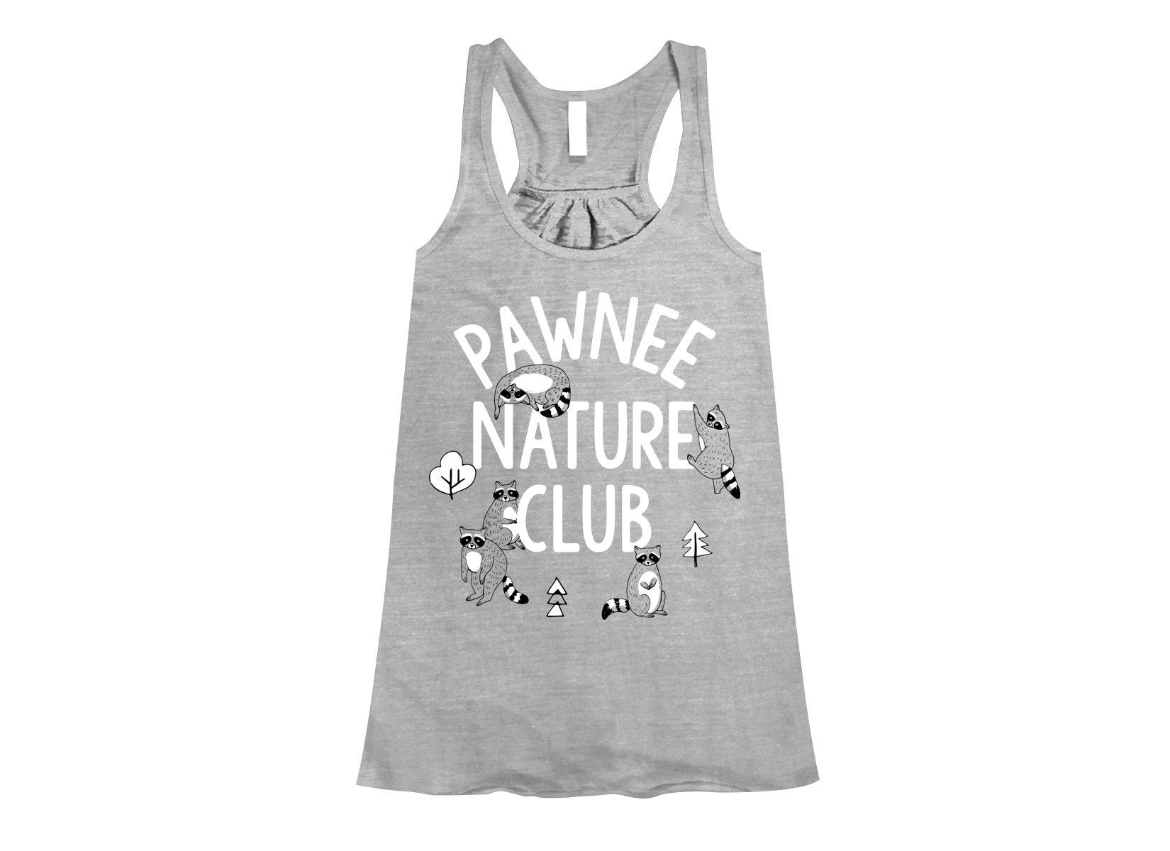 Pawnee Nature Club on Womens Tanks T-Shirt
