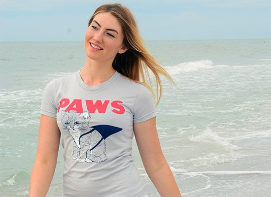 Paws on Juniors T-Shirt