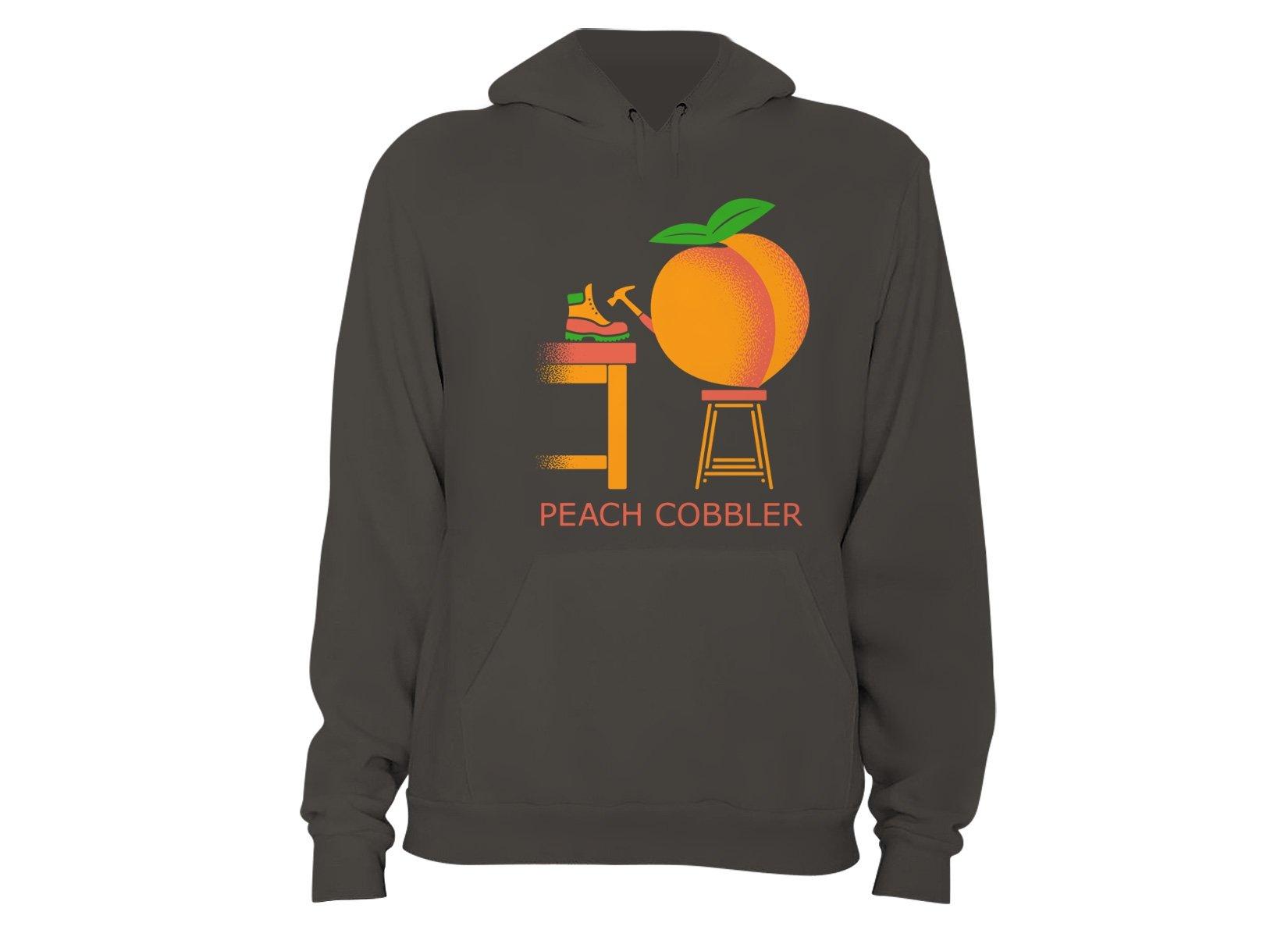 Peach Cobbler on Hoodie
