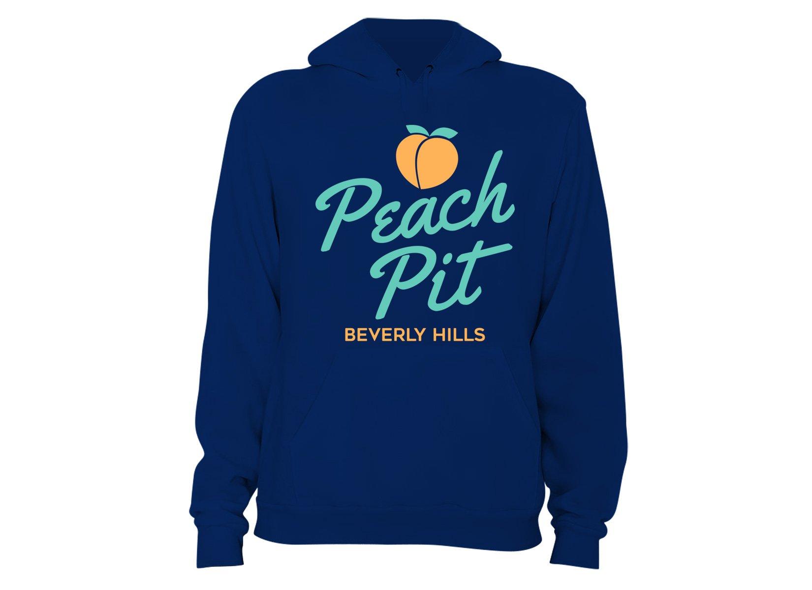 Peach Pit on Hoodie