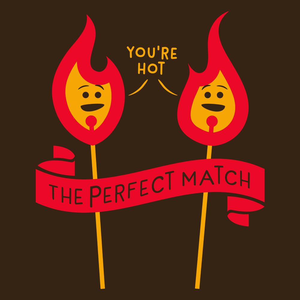 the perfect match t shirt snorgtees