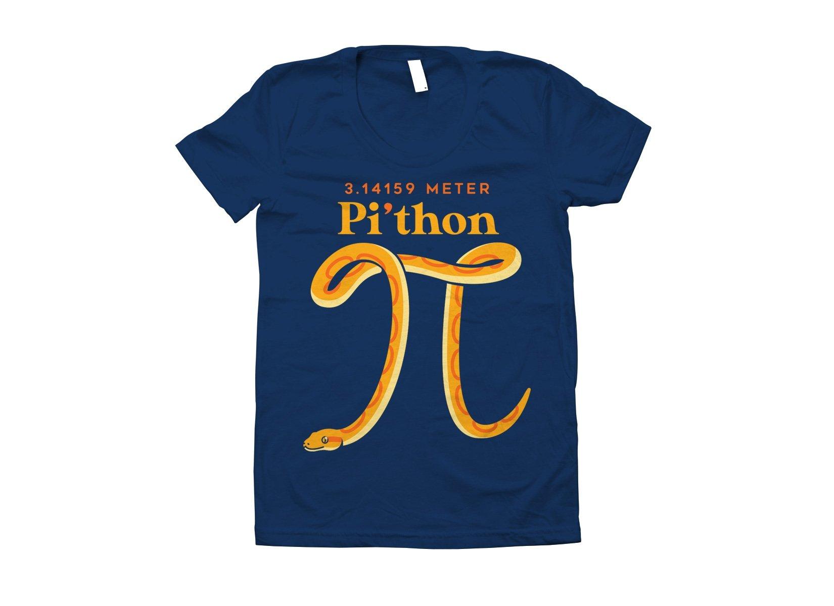 Pi-thon on Juniors T-Shirt