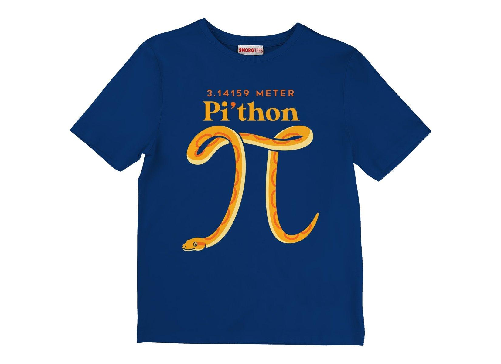 Pi-thon on Kids T-Shirt