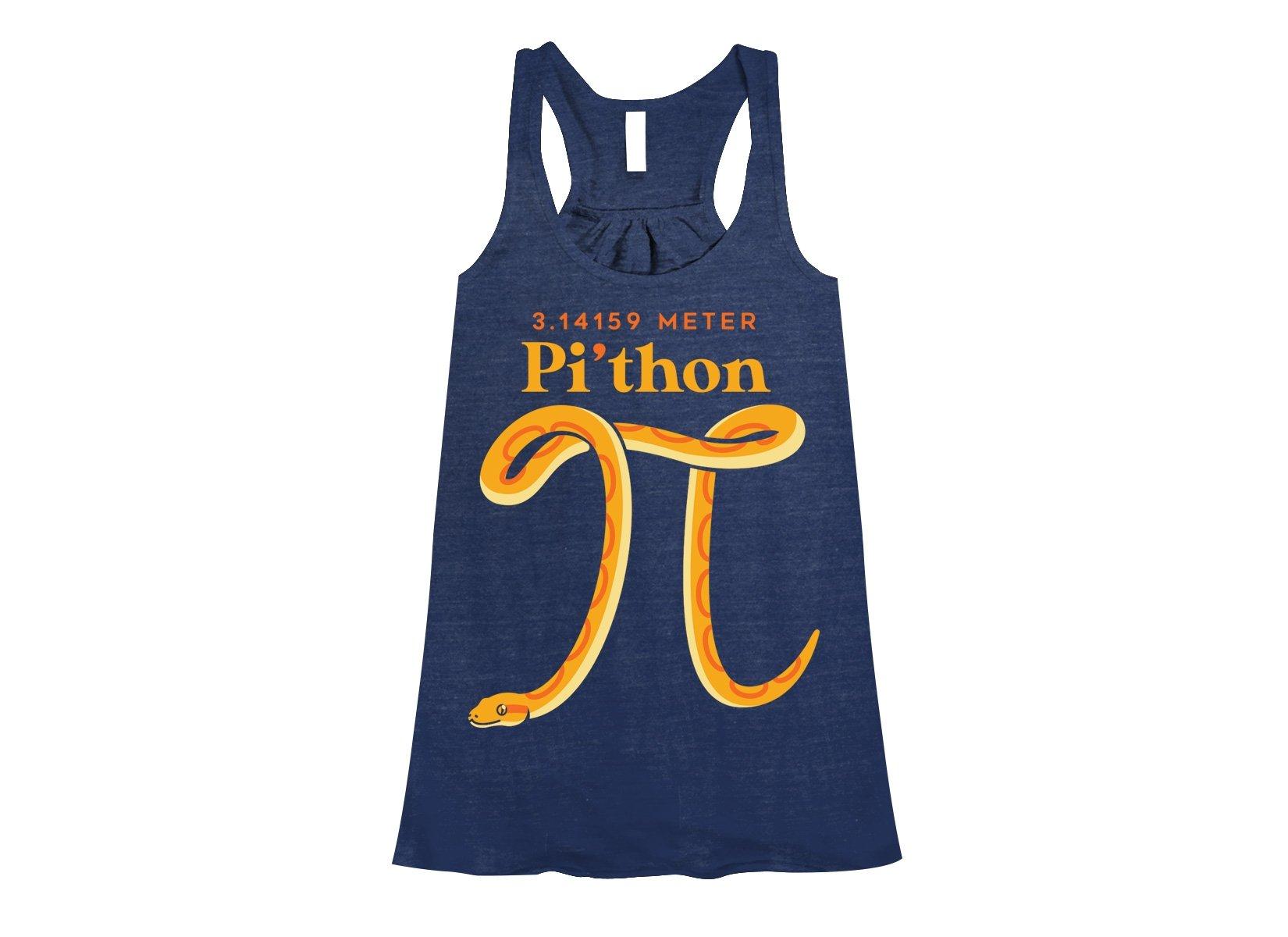 Pi-thon on Womens Tanks T-Shirt