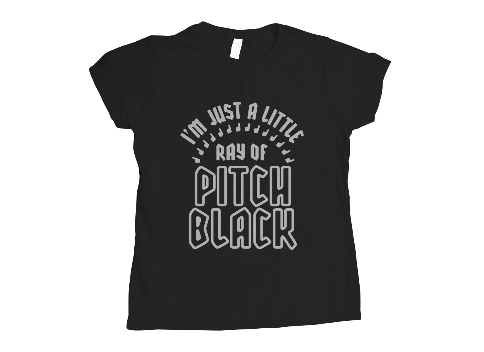 Ray Of Pitch Black on Womens T-Shirt