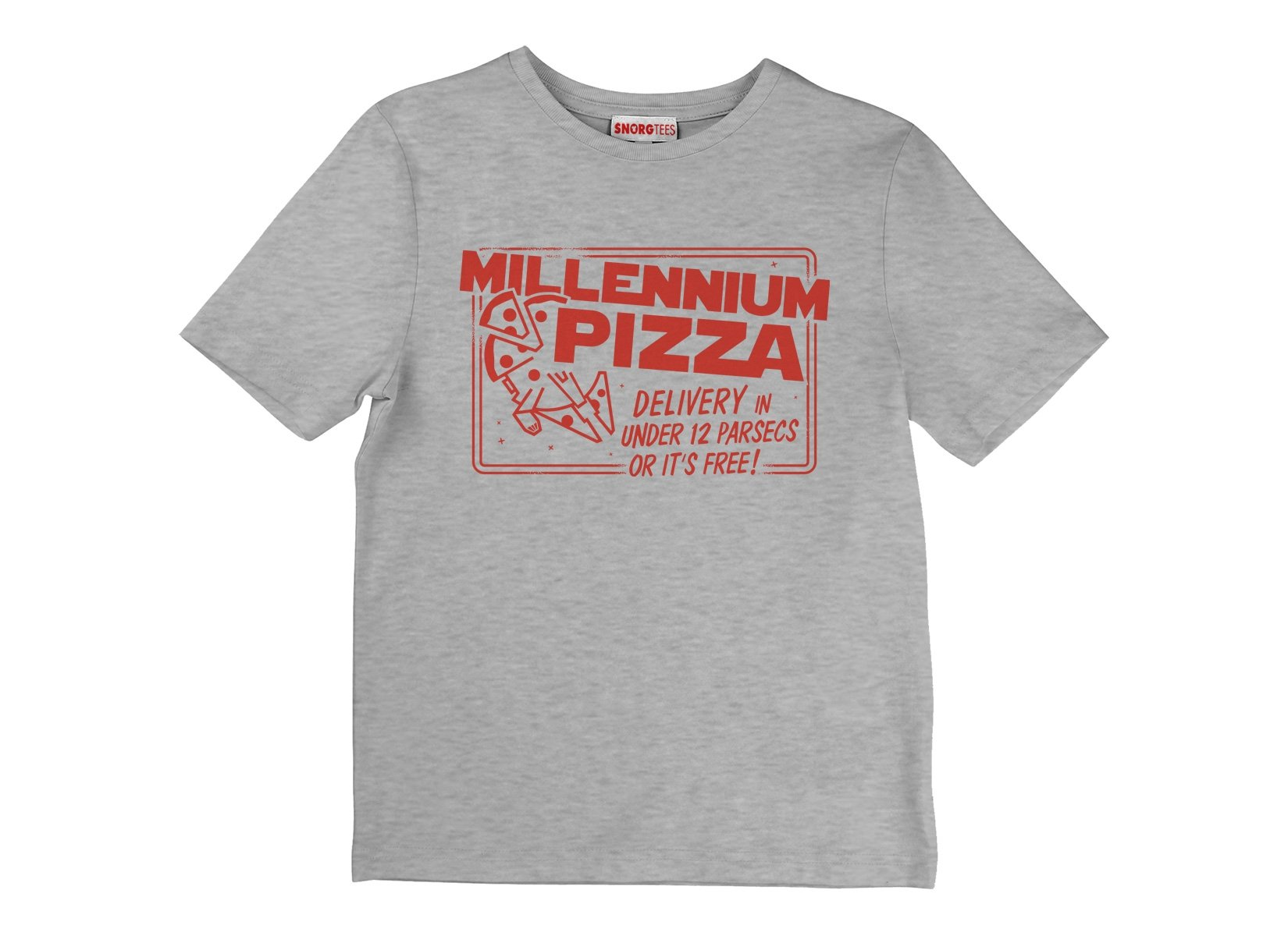 Millennium Pizza on Kids T-Shirt