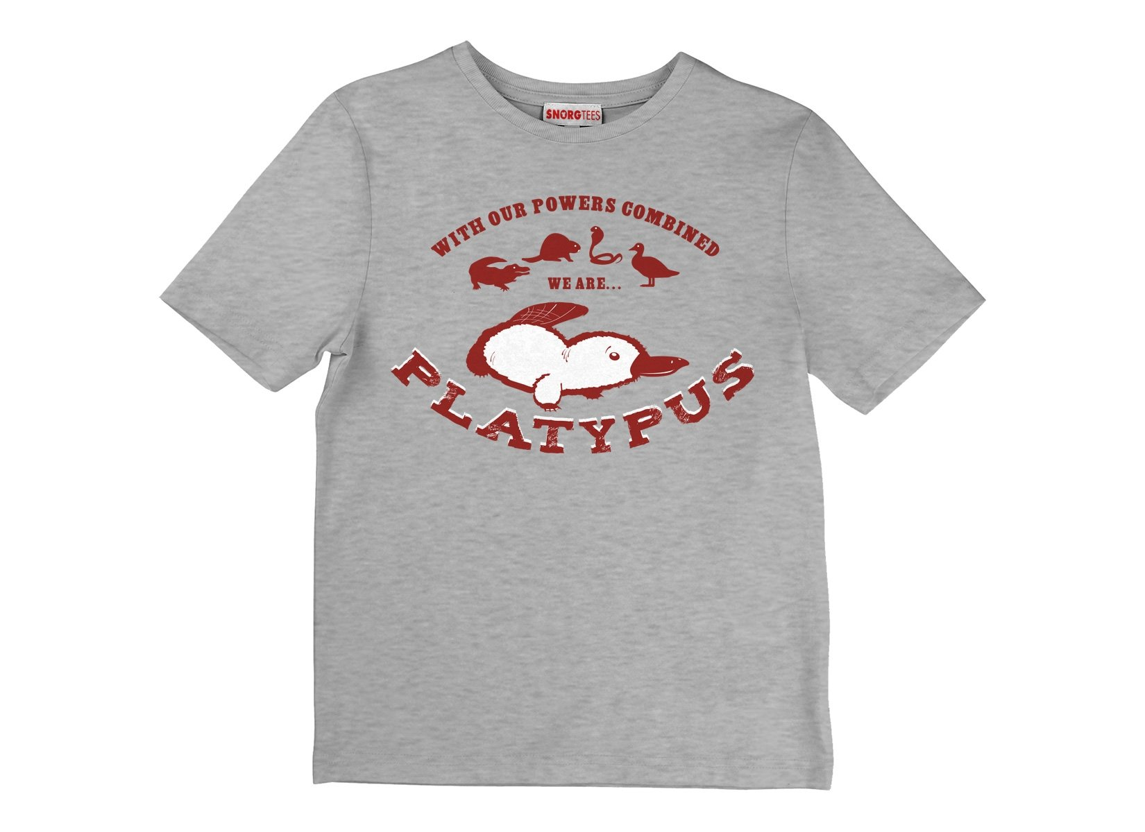 Our Powers Combined... on Kids T-Shirt