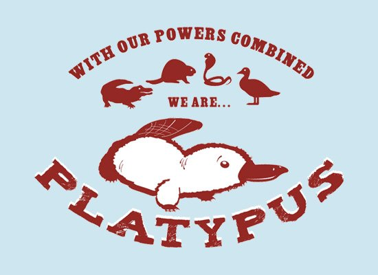 Our Powers Combined... on Mens T-Shirt