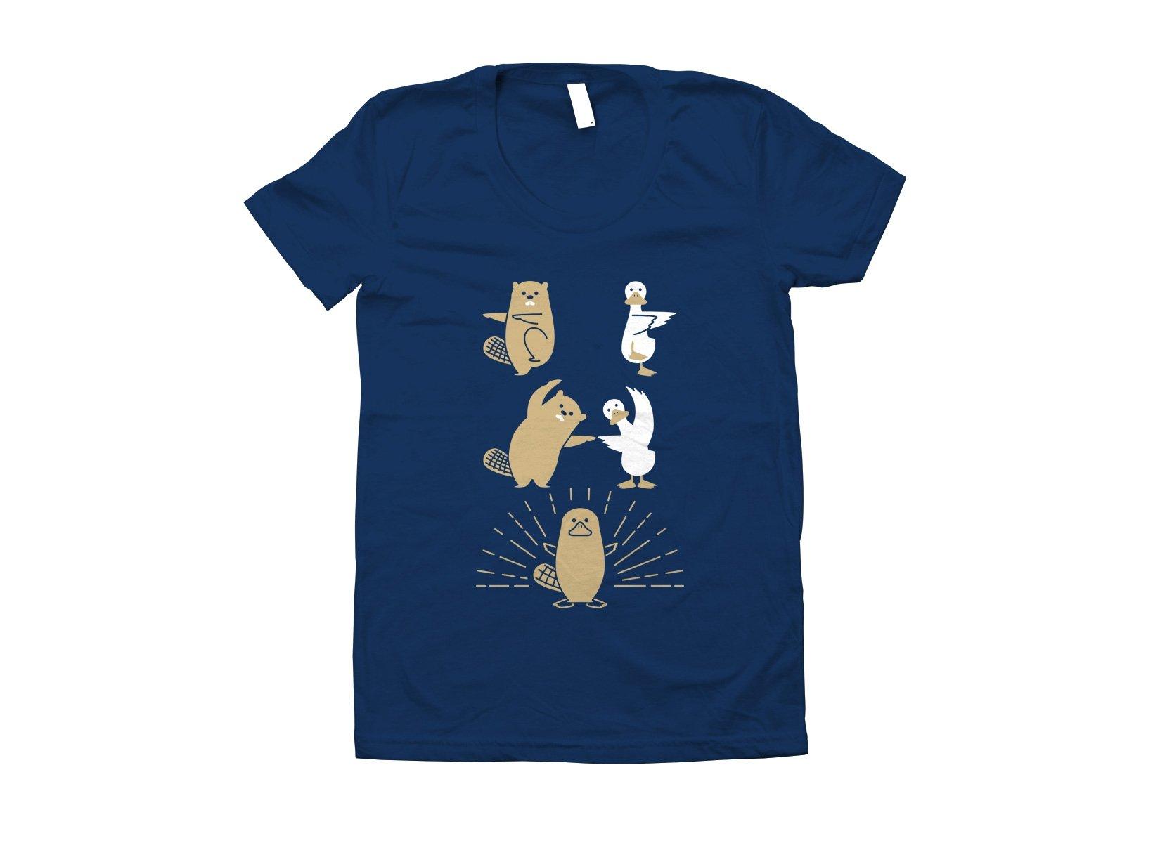Platypus Fusion on Juniors T-Shirt