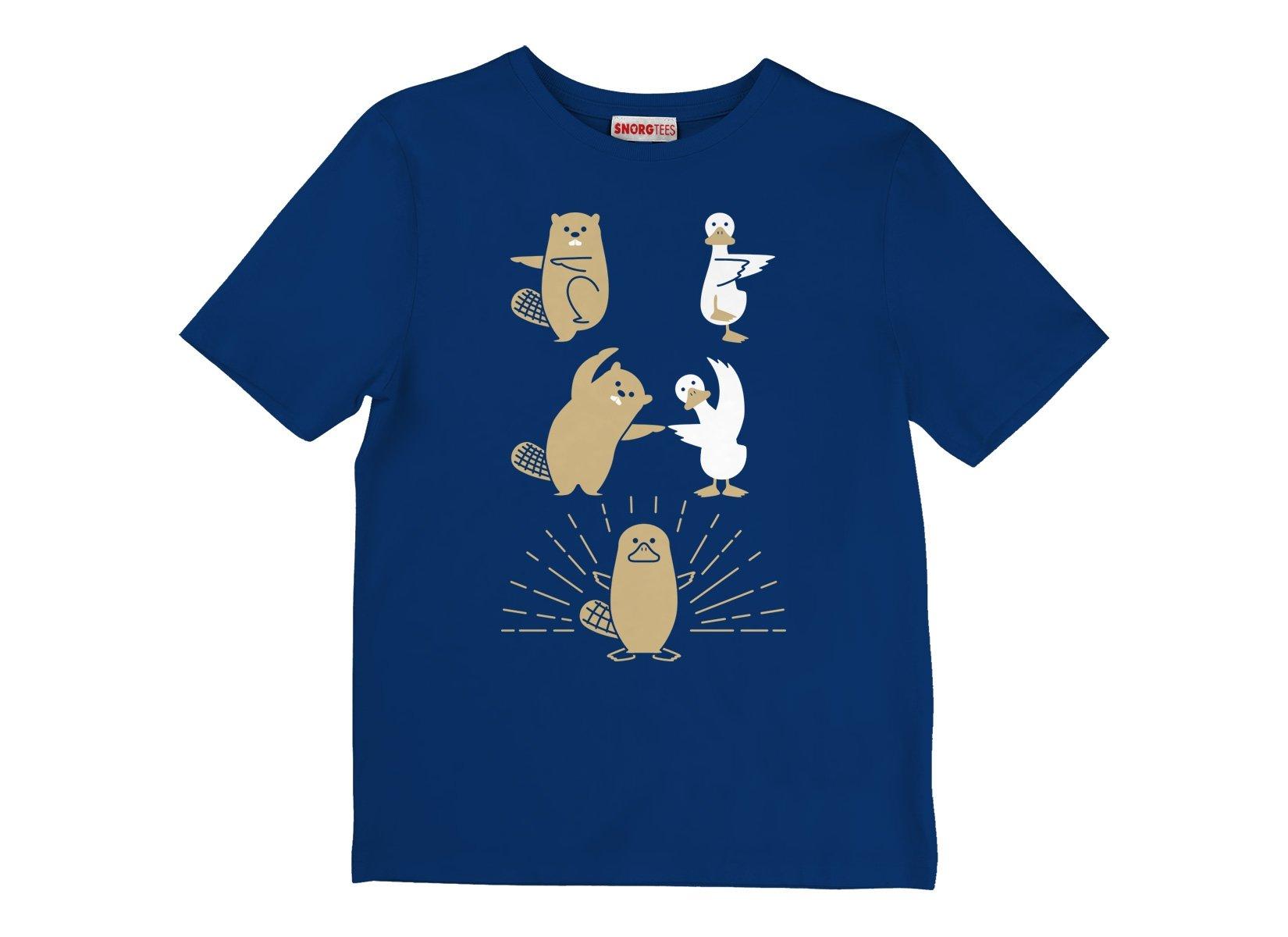 Platypus Fusion on Kids T-Shirt