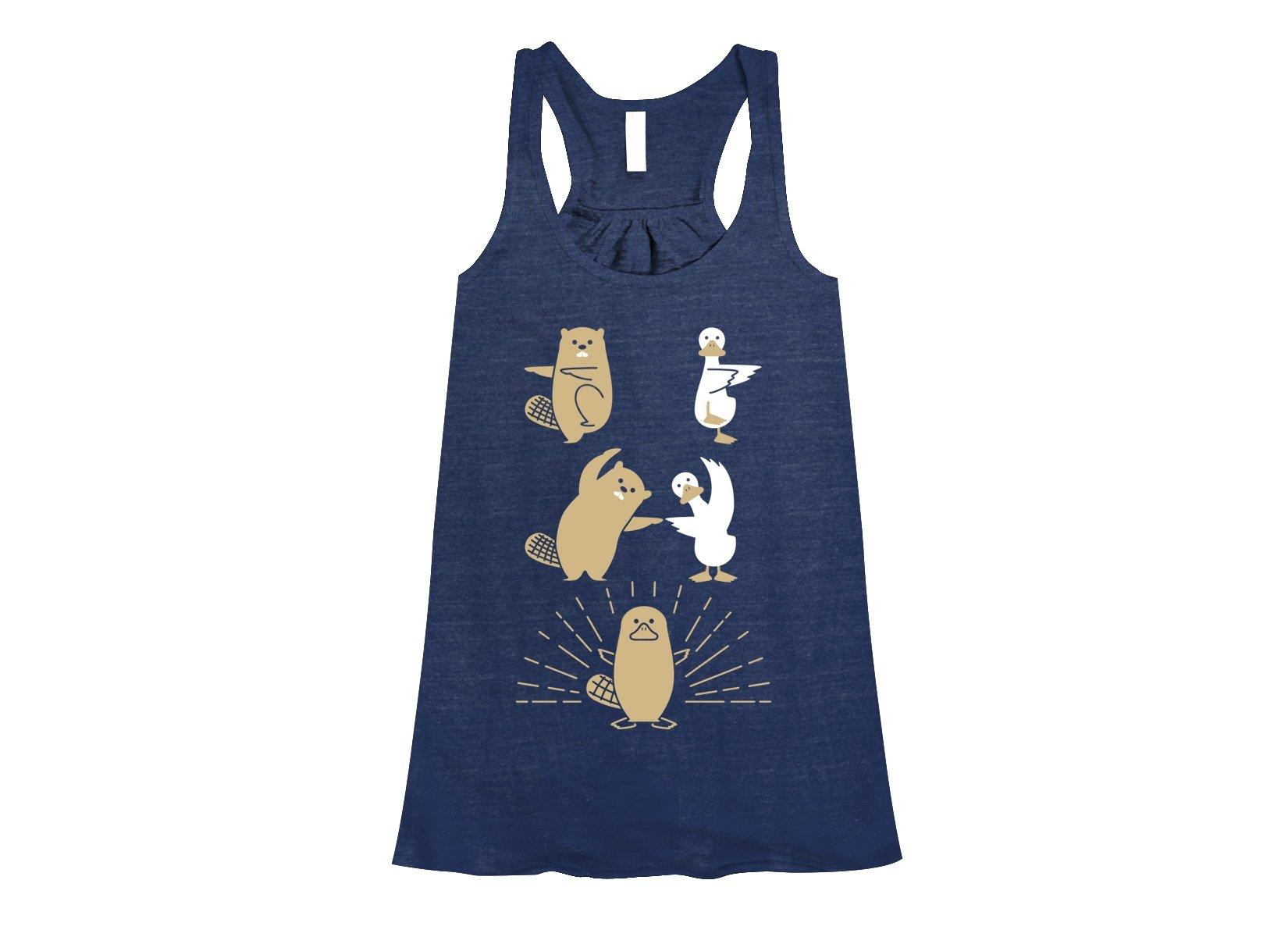 Platypus Fusion on Womens Tanks T-Shirt
